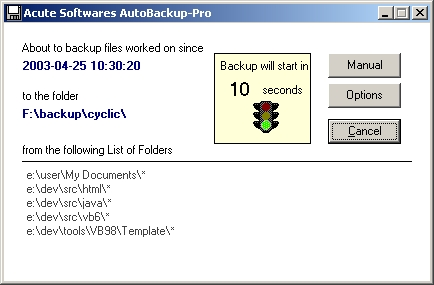 Click to view Autobackup-Pro screenshots
